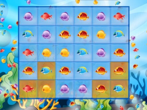 Play Fish Match Deluxe Game