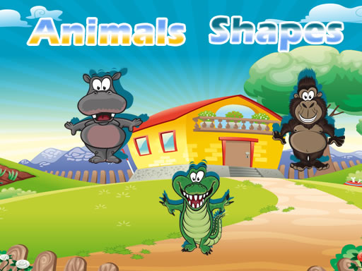 Play Animals Shapes Game