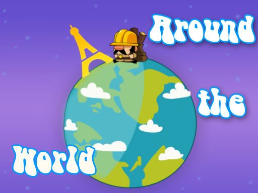 Play Around The World With Jumping Game