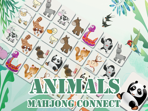 Play Animals Mahjong Connects Game