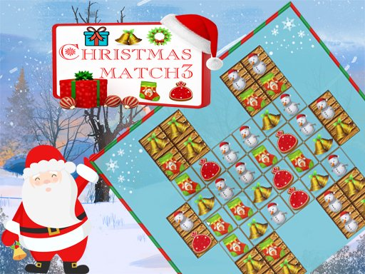 Play Christmas Match 3 Deluxe Game