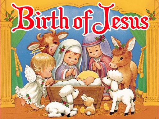 Play The Birth of Jesus Puzzle Game