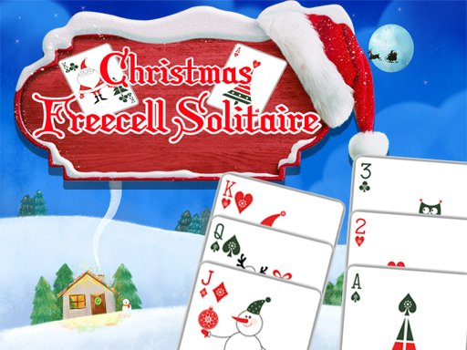 Play Christmas Freecell Solitaire Game