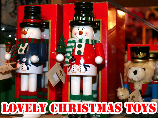 Play Lovely Christmas Toys Puzzle Game