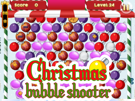 Play Christmas Bubble Shooter 2019 Game