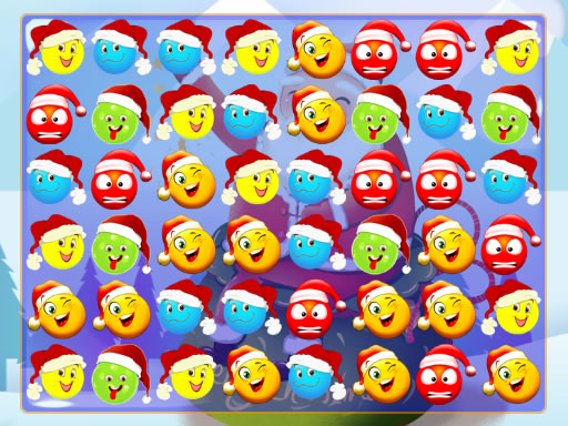 Play Christmas Bubbles Match 3 Game