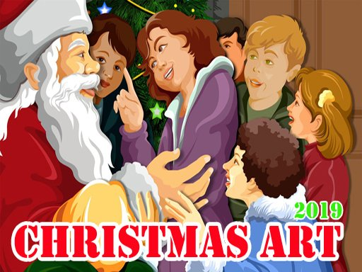 Play Christmas Art 2019 Puzzle Game