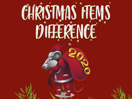 Play Christmas Items Differences Game
