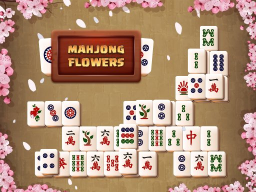 Play Mahjong Flowers Game