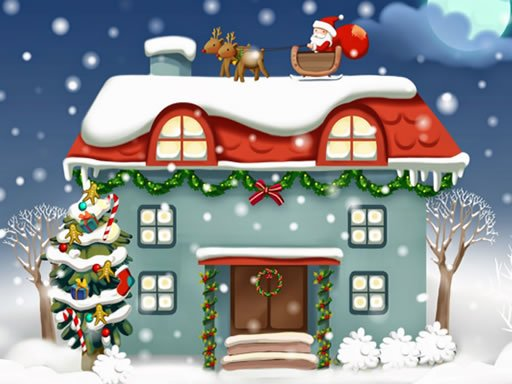 Play Christmas Rooms Differences Game