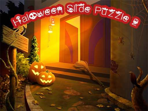 Play Halloween Slide Puzzle 2 Game