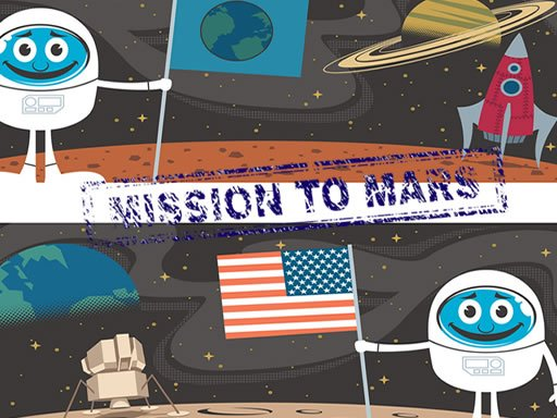 Play Mission To Mars Difference Game