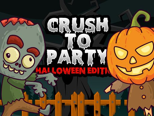 Play Crush to Party: Halloween Edition Game