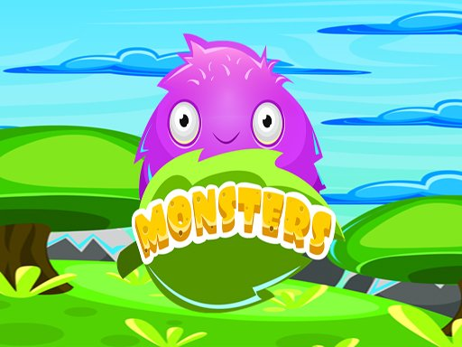 Play Monster Color Match Game