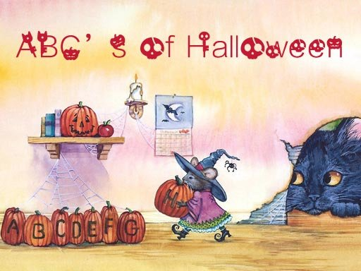 Play ABC's of Halloween Game