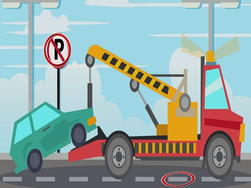 Play Towing Trucks Differences Game