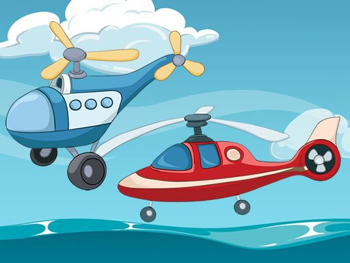 Play Funny Helicopter Memory Game