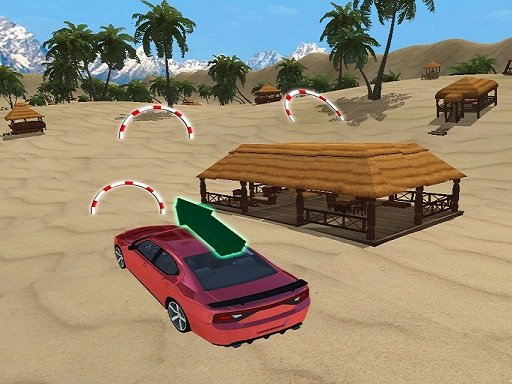 Play Incredible Water Surfing Car Stunt Game