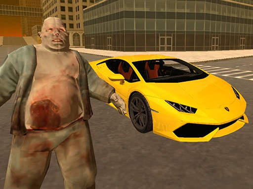 Play Supercars Zombie Driving Game