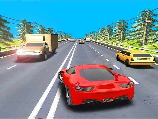 Play Highway Driving Car Game