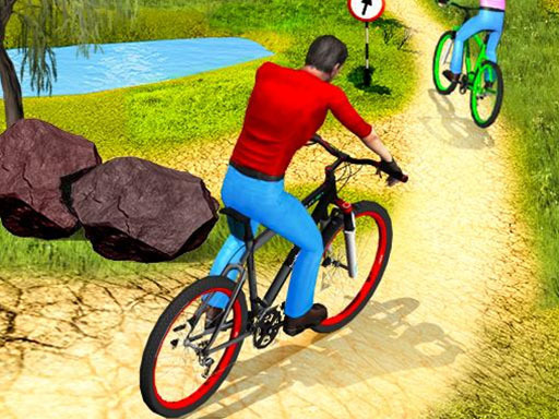 Play UPHill OffRoad Bicycle Rider Game