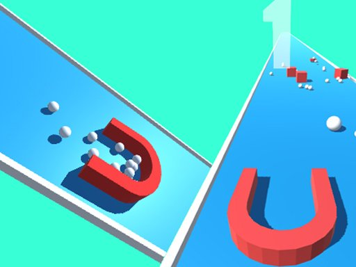Play Magnet 3D Picker Race Game