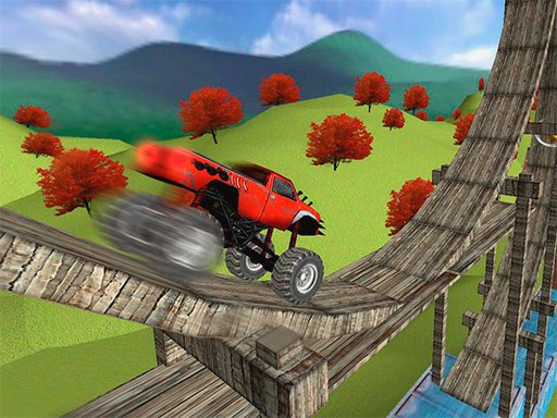 Play Monster Truck Stunt Madness Game