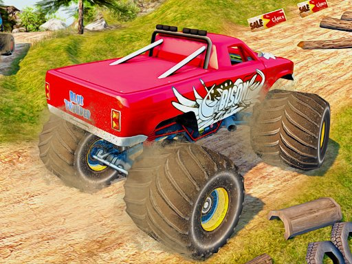 Play Monster Truck Highway Traffic Game