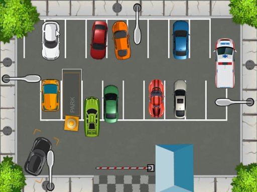 Play HTML5 Parking Car Game