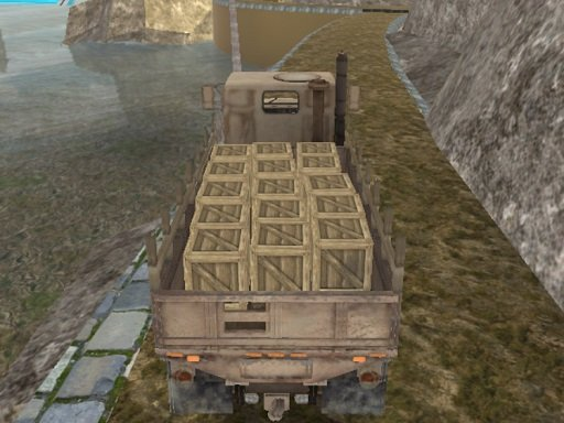 Play Army Cargo Drive Game