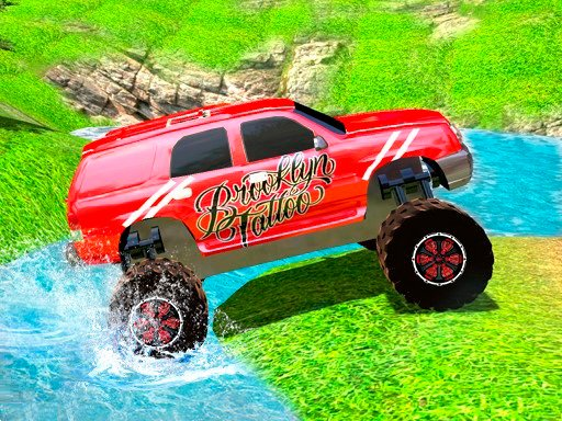 Play Offroad Grand Monster Truck Hill Drive Game