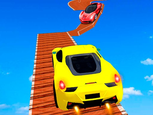 Play Tricky Impossible Tracks Car Stunt Racing Game