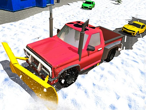 Play Snow Plow Jeep Simulator 3D Game