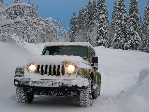 Play Offroad Snow Jeep Passenger Mountain Uphill Drivin Game