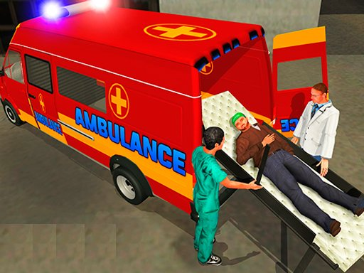 Play Ambulance Rescue Driver Simulator Online Game