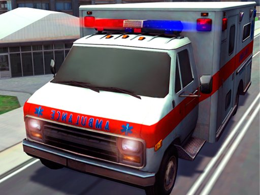 Play Best Emergency Ambulance Rescue Drive Sim Game
