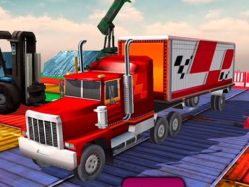 Play Impossible Truck Driving Simulator 3D Game