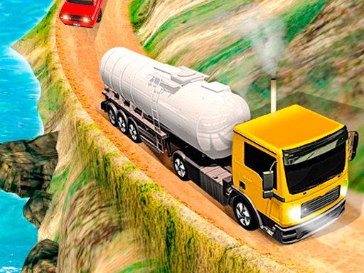 Play Offroad Oil Tanker Truck Drive Game