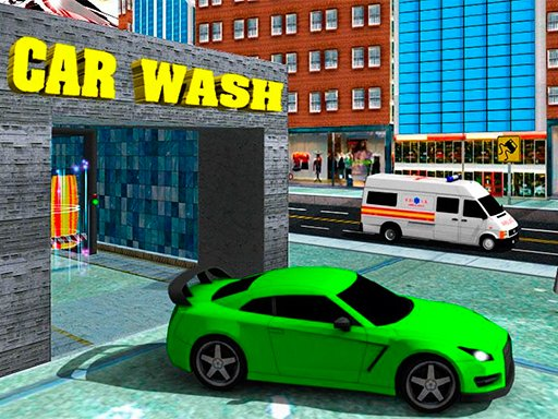Play Sports Car Wash Gas Station Game