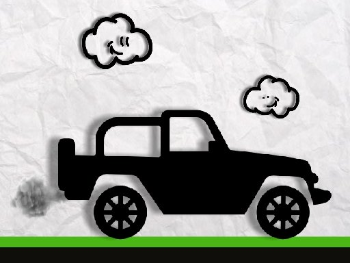 Play Paper Monster Truck Race Game