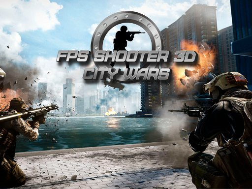 Play FPS Shooter 3D City Wars Game