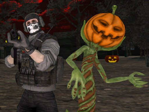 Play Halloween Multiplayer Shooter Game