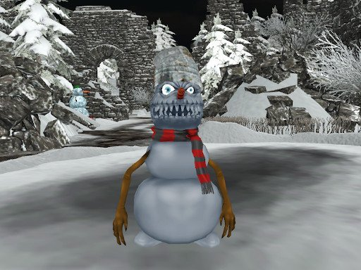 Play Christmas Survival FPS Game