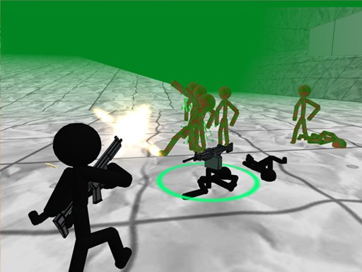 Play Stickman Zombie 3D Game