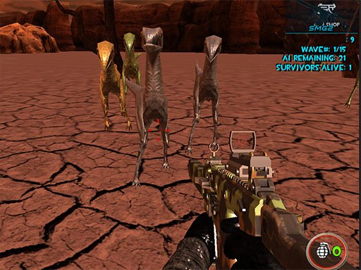 Play Dinosaurs Survival Active Vulcan Multiplayer Game