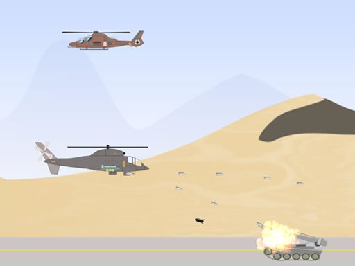 Play Heli Defense Game