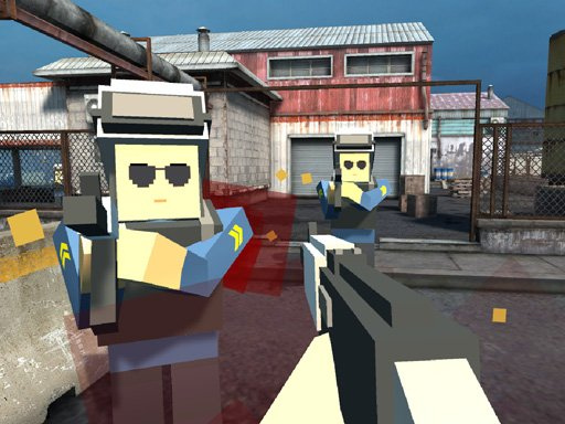 Play Pixel Factory Battle 3D.IO Game
