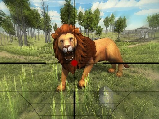 Play Lion Hunting 3D Game
