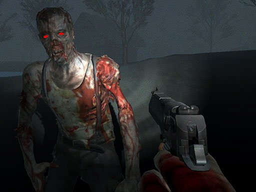 Play Slender Zombie Time Game