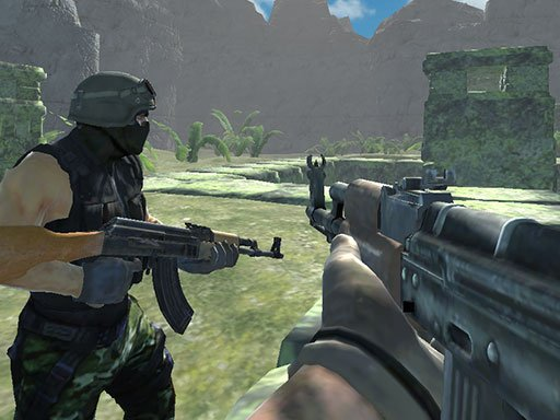 Play Ghost Team Shooter Game